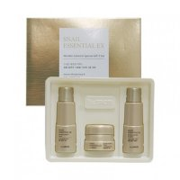 Набор уходовый антивозрастной THE SAEM Snail Essential EX Wrinkle Solution Skin Care 3 Set
