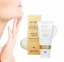 Крем для шеи PETITFEE Gold Neck