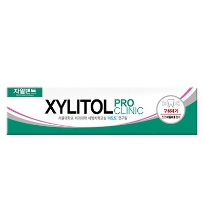 Зубная паста Xylitol Pro Clinic (herb fragrant) green color   Зубная паста Xylitol Pro Clinic (herb fragrant) green color