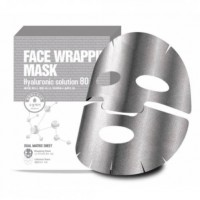 Маска для лица FW с гиалуроновой кислотой Face Wrapping Mask Hyaluronic Solution 80