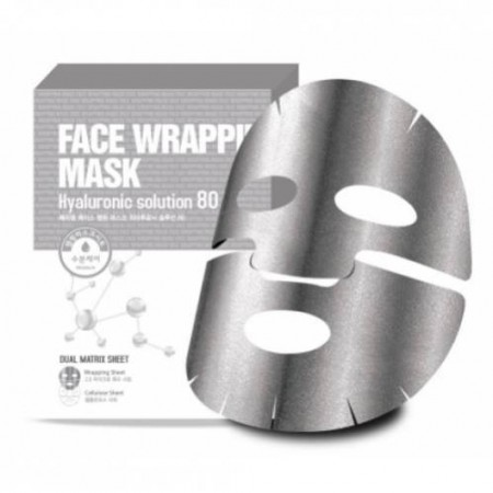 Маска для лица FW с гиалуроновой кислотой Face Wrapping Mask Hyaluronic Solution 80 Маска для лица FW с гиалуроновой кислотой Face Wrapping Mask Hyaluronic Solution 80