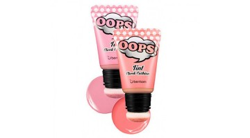 Румяна-тинт для лица OOPS Tint Cheek Cushion Cream Peach