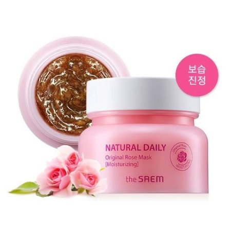 Маска для лица с лепестками роз The Saem Natural Daily Original Rose Mask