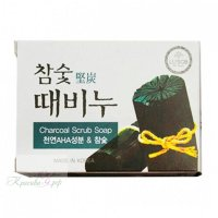 Отшелушивающее мыло Dongbang charcoal stain remover soap