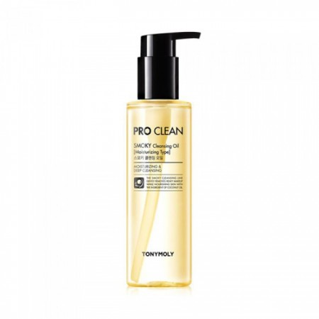 Гидрофильное масло Tony Moly Pro Clean Smoky Cleansing Oil Гидрофильное масло Tony Moly Pro Clean Smoky Cleansing Oil